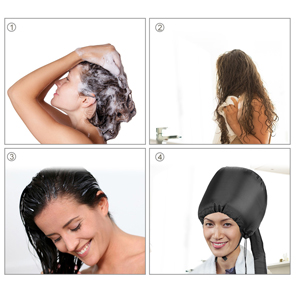Bonnet Hood Hair Dryer Attachment
