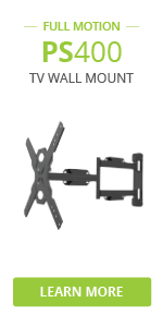ps400 full motion tv wall mount