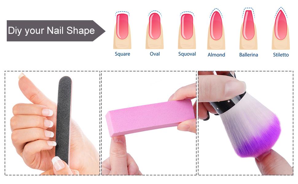 DIY your nail shape