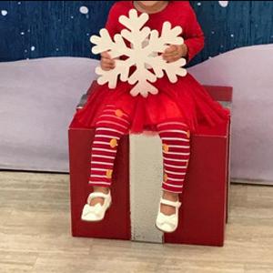 Santa Claus Top And Stripe Pant