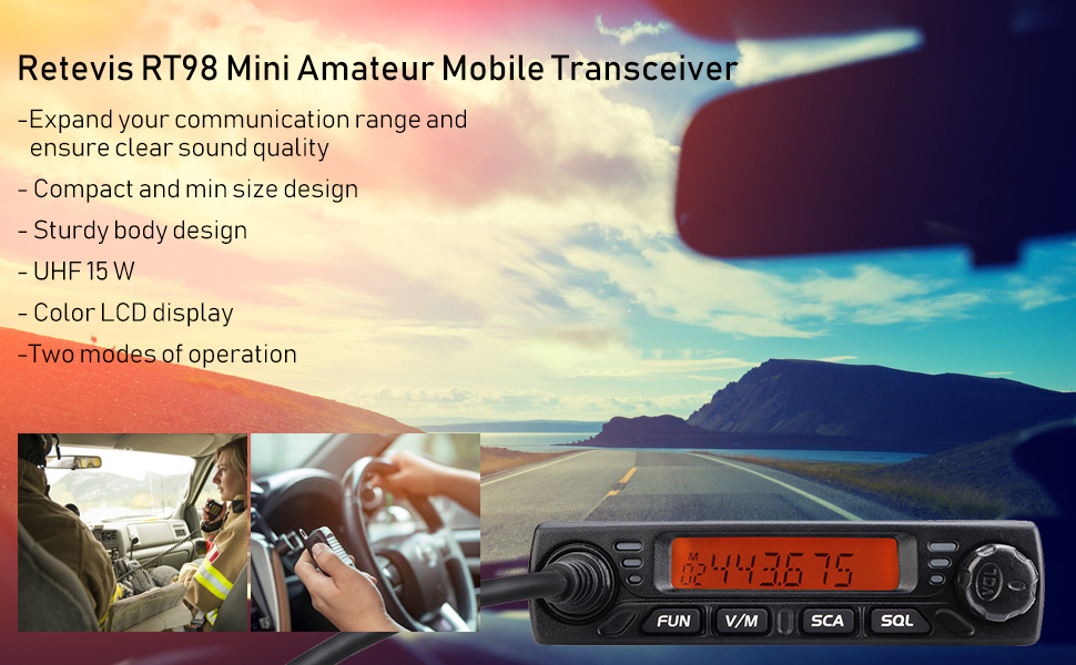 retevis dmr radios car mobile radios