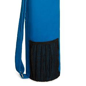 yoga bag with mesh pocket, yoga mat bag with mesh pocket