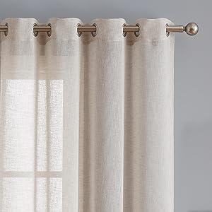 long yarn living room curtains grommet top gift