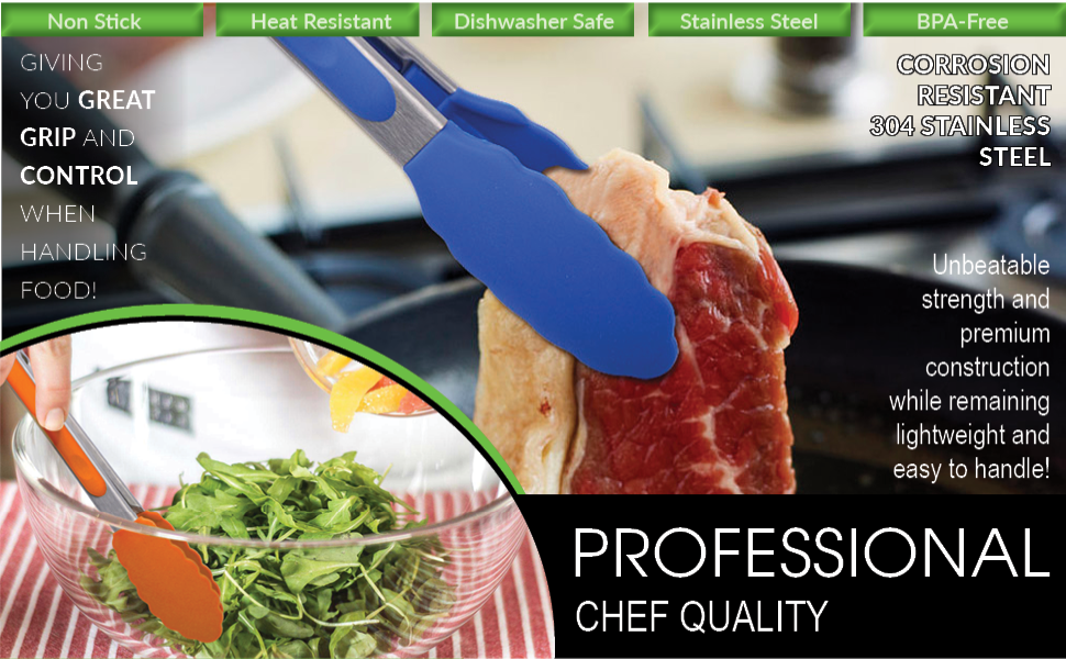 professional chef quality
