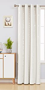 rhombic pattern blackout curtains for bedroom