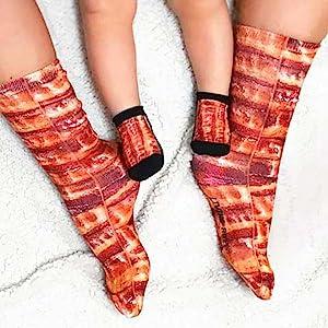 socks baby pizza living royal novelty fun gift lover