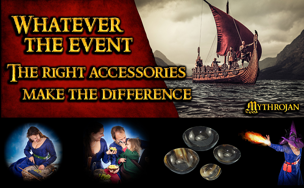 serving bowl genuine horn medieval viking goblet dinnerware dishes and set feast dinner feastware