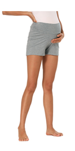 Women's Maternity Summer Shorts