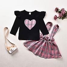 baby girl skirt set
