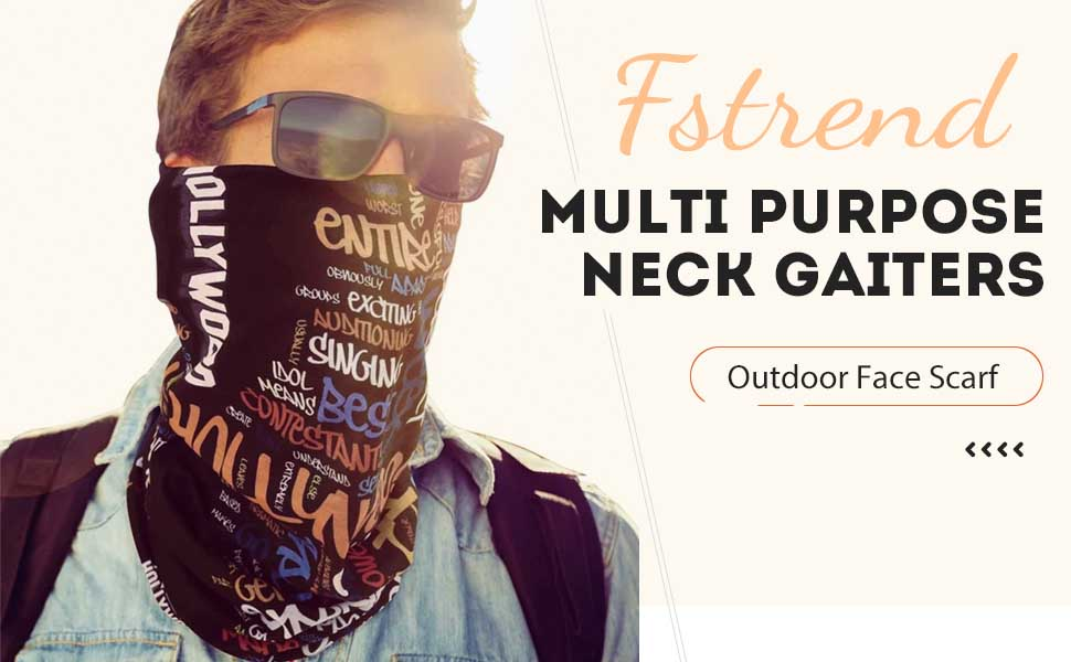 Outdoor Seamless Face Mask Bandana