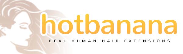 hotbanan human hair extensions