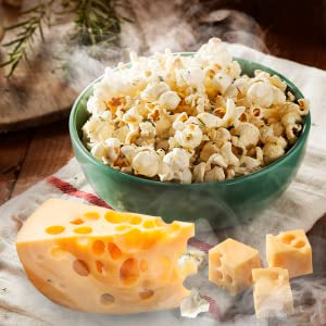 smoked pop corn and cheese