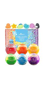 Squishy  Bubble Bath Bombs Gift Set