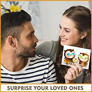 Valentine Gifts For Couples - DIY Stencil Wall Art with Home Stencils for Painting on Wood