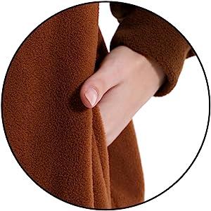 pockets design Details of adult unisex animal onesie costume