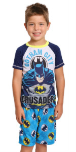 batman boys pajama dark night dc comics sleepwear joker superman super hero bruce wayne pj pjs