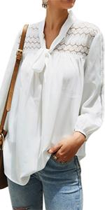 women white blouse