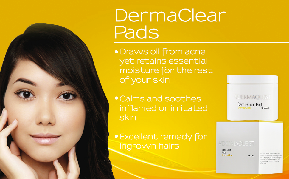 DermaQuest DermaClear Pads with Salicylic Acid Acne