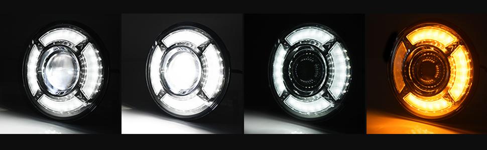 4 Lighting Modes