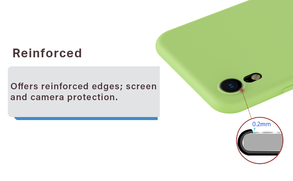 Ultra- Thin Case iPhone XR Soft Microfiber Slim Fit Flexible TPU Shockproof Protective Cover