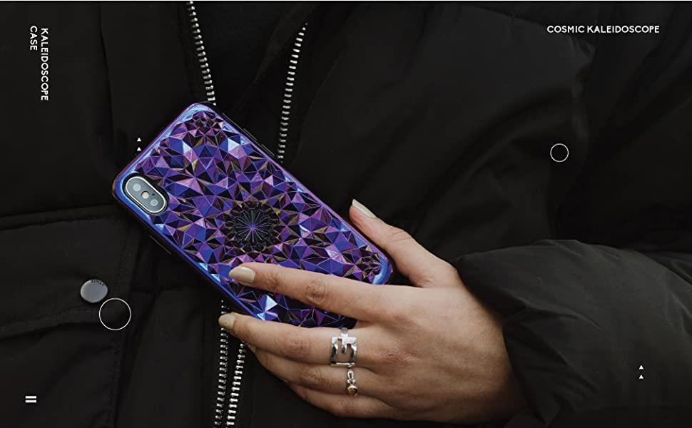 felony case cosmic kaleidoscope iphone xs max case