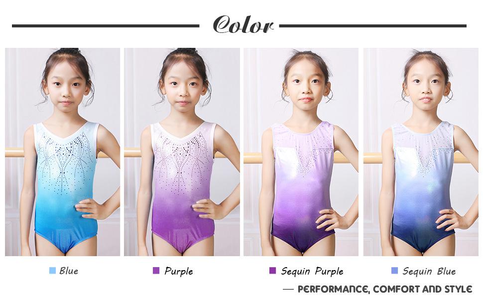 girls leotards gymnastics size 5