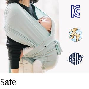 konny baby carrier safe sound certified certification stable