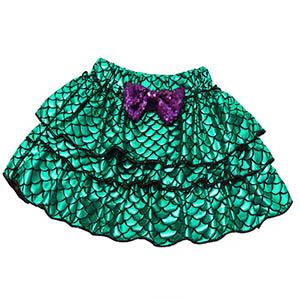 3pcs mermaid princess costume outfits dress up cosplay clothes party Halloween HG076-112