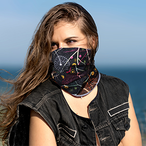 BREATHABLE, PROTECT YOU WELL FROM SUN, WIND AND DUST