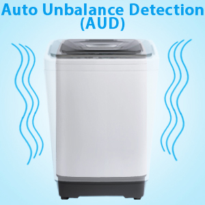Electric washing machine with drain pump electric washer and dryer sets with wheels