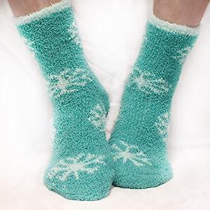 adorable Christmas socks