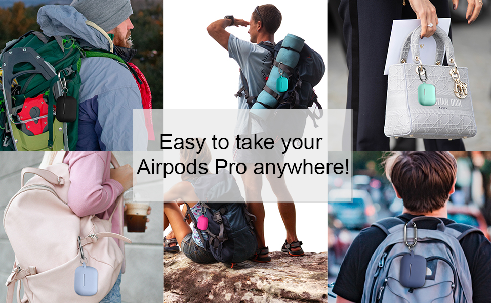 Easy to take your AirPods Pro Case to anywhere
