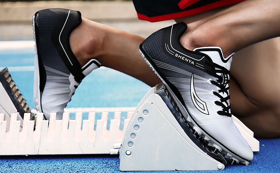 men track spikes shoes