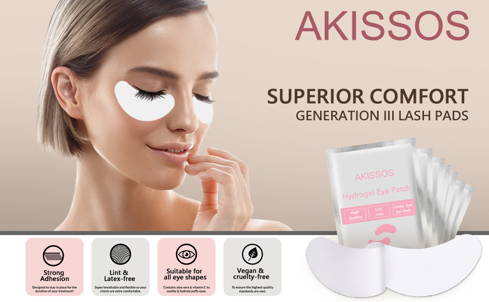 Hydrogel Eye patch; Eyelash extension supplies