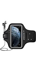 JEMACHE Gym Running Armband for iPhone 11 Pro, iPhone X/XS