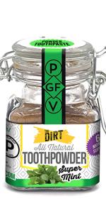 natural toothpowder