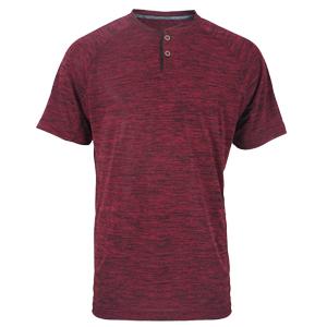 Burgundy Henley shirt