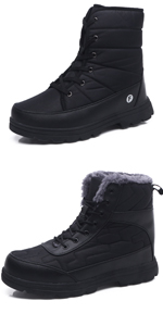 mens womens snow boots