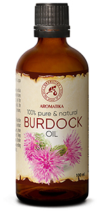 Burdock Root Oil 3.4oz - 100% Pure & Natural - Arctium Lappa Root - Best Hair Oil - Great