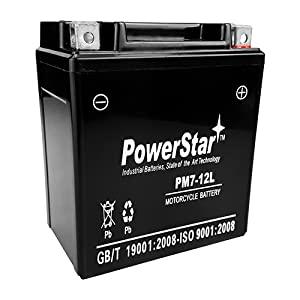 PowerStar AGM Ytx7l-bs Battery for Honda Nx125 Nx250 Cb600f Rebel Cmx250c