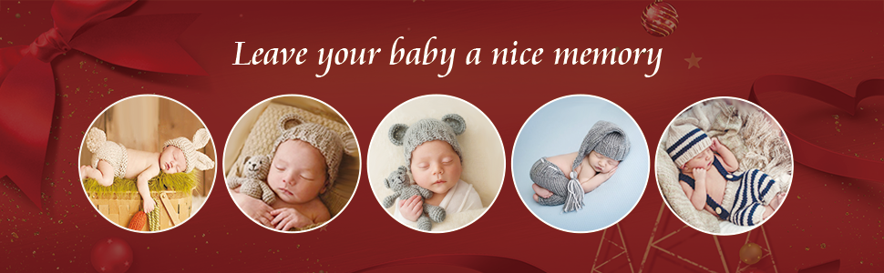 leave your baby a nice memory