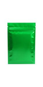 flat mylar ziplock bag