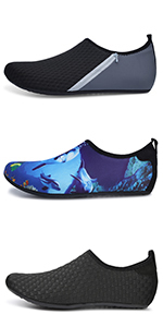 Mens Water Shoes Women Aqua Socks Quick-Dry Beach Surf Swim Shoe Barefoot Boat Yoga Sneakers