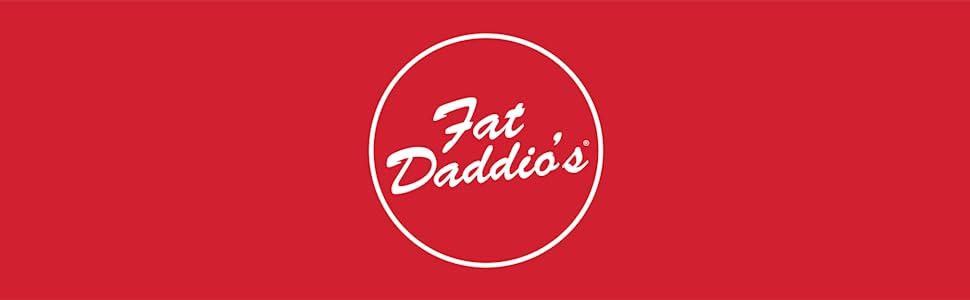 fat daddio's, logo