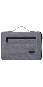 Side Zipper Laptop Sleeves