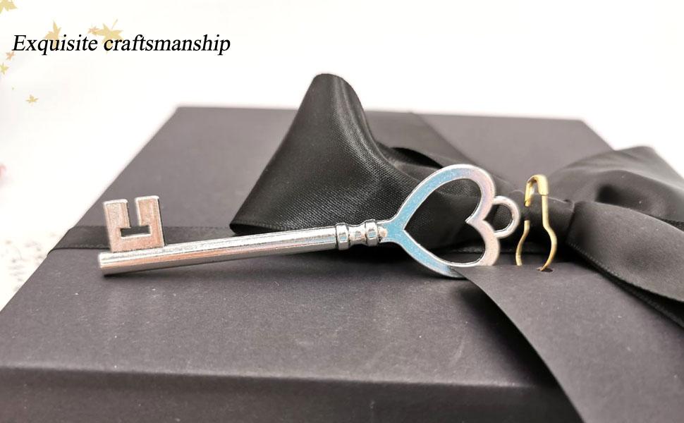 craft vintage key large skeleton keys necklace charm key necklaces key pendant key