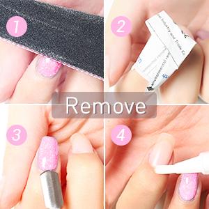 apply gel polish