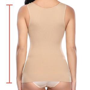seamless tank top shapewear