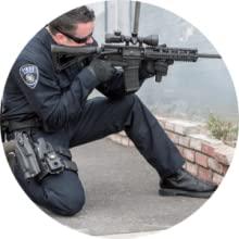 pistol grip glove tactical duty police LEO