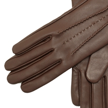 leather gloves winter ladies black warm lined real fashion sales deal touchscreen